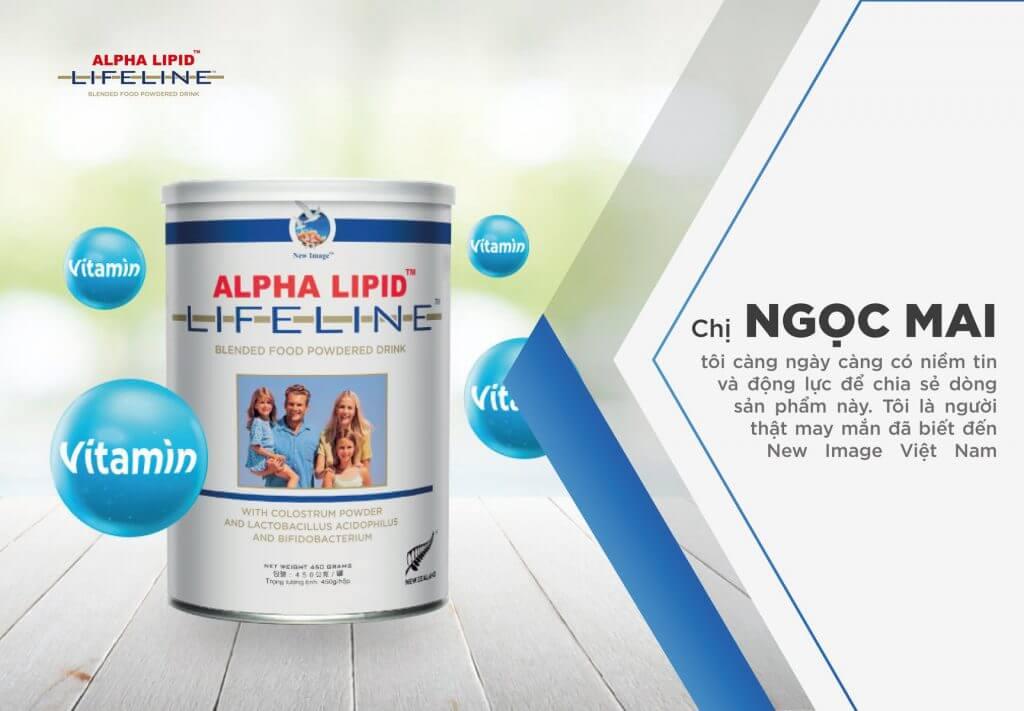 Review sữa non Alpha Lipid Lifeline